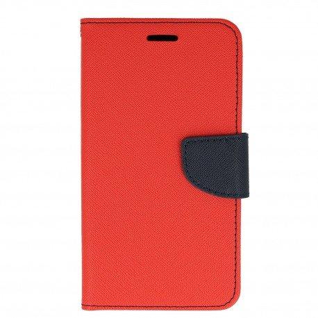 Etui porfelowe Fancy na telefon Samsung Galaxy A5 2017 A520F czerwony