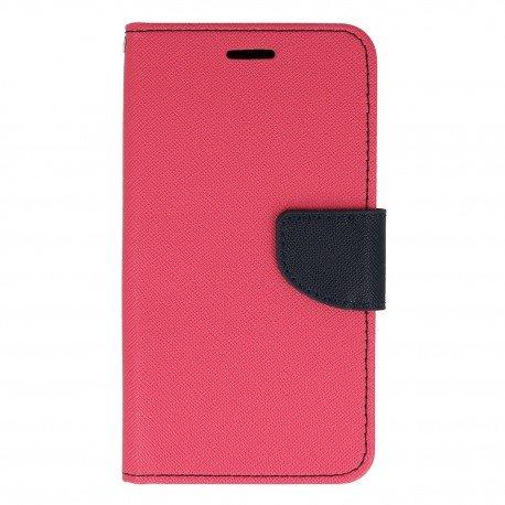 Etui porfelowe Fancy na telefon Samsung Galaxy A5 2017 A520F różowy