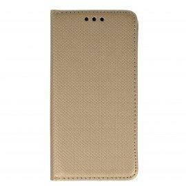 Etui boczne z klapką magnet book Samsung Galaxy A5 2017 A520F złoty