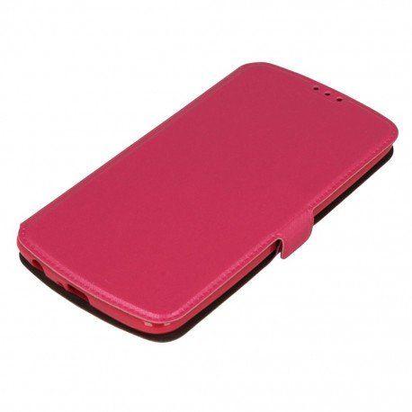 Etui na telefon Pocket Book na LG K10 LTE K430 różowy