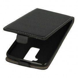 Etui z klapką Flexi do telefonu LG K10 LTE K430 czarny
