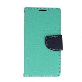 Etui portfelowe Fancy na telefon LG K10 LTE K430 miętowy