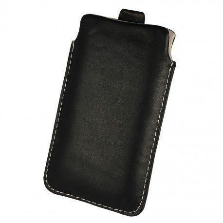 Etui wsuwka skórzana De Lux na telefon LG K10 LTE K430