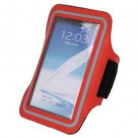 Etui do biegania na ramię Samsung Galaxy S6 czerwony