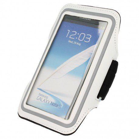 Etui do biegania na ramię Samsung Galaxy S6 Edge biały