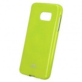 Etui na telefon Jelly Case do Samsung Galaxy S7 limonkowy