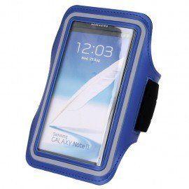 Etui do biegania na ramię Samsung Galaxy S7 Edgeniebieski