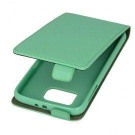 Etui z klapką do telefonu Samsung Galaxy S6 zielony