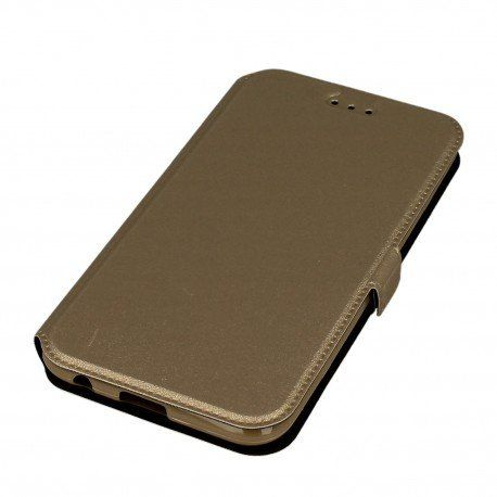 Etui na elefon Pocket Book na LG K10 2017 M520n złoty