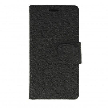 Etui portfelowe Fancy na telefon LG X Power K220 czarny