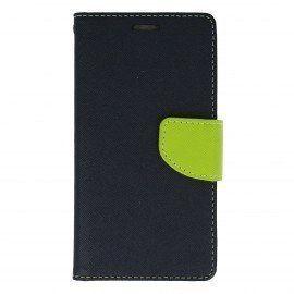 Etui portfelowe Fancy na telefon LG X Power K220 grantowy