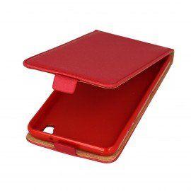 Etui z klapką Flexi do telefonu LG X Power K200 czerwony