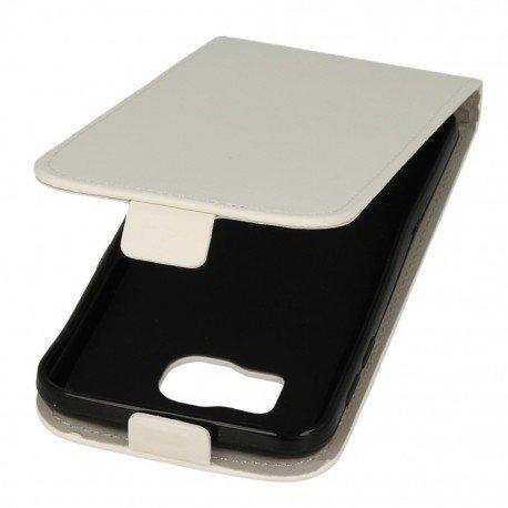 Etui z klapką do telefonu Samsung Galaxy S6 biały