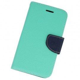 Etui portfelowe Fancy na telefon Samsung Galaxy Xcover G388F miętowy