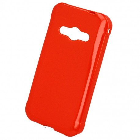 Etui na telefon Jelly Case do Samsung Galaxy Xcover 3 G388F czerwony