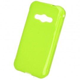 Etui na telefon Jelly Case do Samsung Galaxy Xcover 3 G388F limonkowy