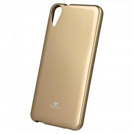 Etui na telefon Jelly Case do HTC Desire 825 złoty