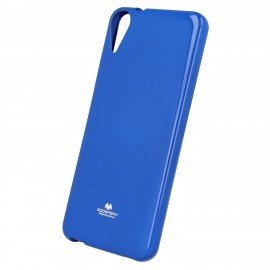 Etui na telefon Jelly Case do HTC Desire 825 granatowy