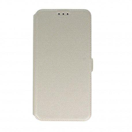 Etui na telefon Pocket Book na HTC Desire 825 biały