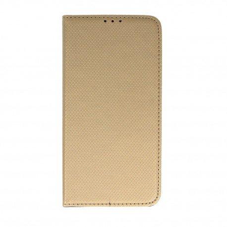 Etui boczne z klapką magnet book HTC Desire 10 LIFESTYLE złoty