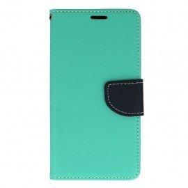 Etui portfelowe Fancy na telefon HTC Desire 10 Lifestyle miętowy