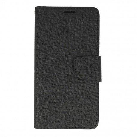 Etui portfelowe Fancy na telefon HTC Desire 10 Lifestyle czarny
