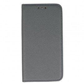 Etui boczne z klapką magnet book HTC Desire 10 LIFESTYLE stalowy