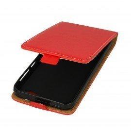 Etui z klapką Flexi do telefonu HTC One A9s czerwony