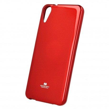 Etui na telefon Jelly Case do HTC Desire 10 Lifestyle czerwony