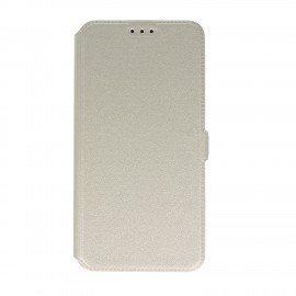Etui na telefon Pocket Book na HTC Desire 10 Lifestyle biały