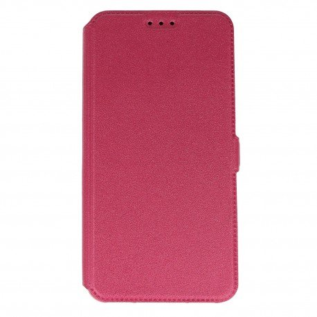 Etui na telefon Pocket Book na HTC Desire 10 Lifestyle różowy