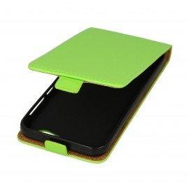 Etui z klapką Flexi do telefonu HTC One A9s zielony