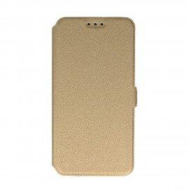 Etui na telefon Pocket Book na HTC Desire 626 złoty