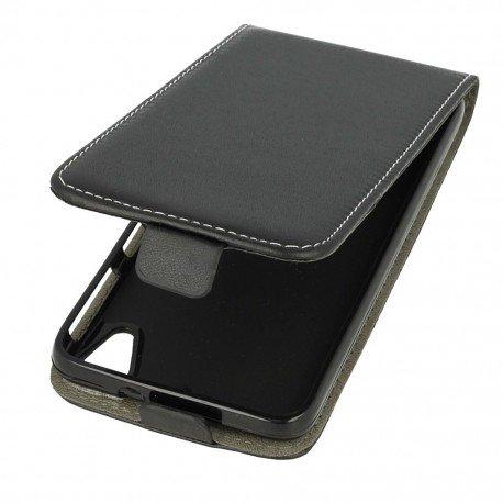 Etui z klapką Flexi do telefonu HTC Desire 626 czarny