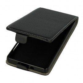 Etui z klapką Flexi do telefonu Huawei P8 Lite czarny