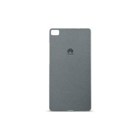 Oryginalne etui obudowa case plecki ciemnoszare do Huawei P8 Lite