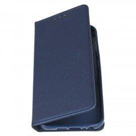 Etui boczne z klapką magnet book HTC One A9s granatowy