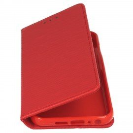 Etui boczne z klapką magnet book HTC One A9s czerwony