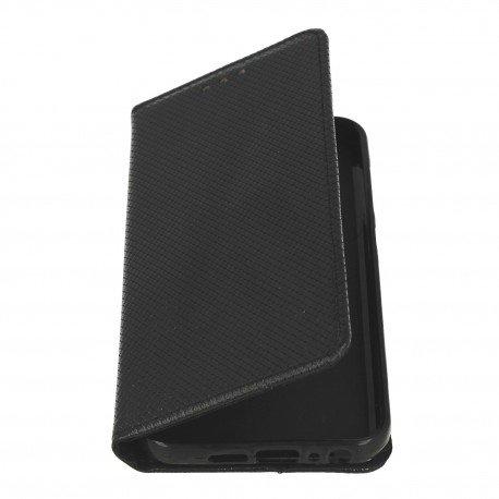 Etui boczne z klapką magnet book HTC One A9s czarny
