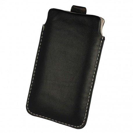 Etui wsuwka skórzana De Lux na telefon LG X Cam K580