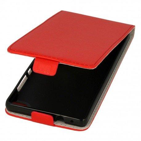 Etui z klapką Flexi do telefou Huawei P8 czerwony