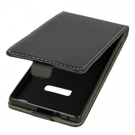 Etui z klapką Flexi do telefou Huawei P8 czarny