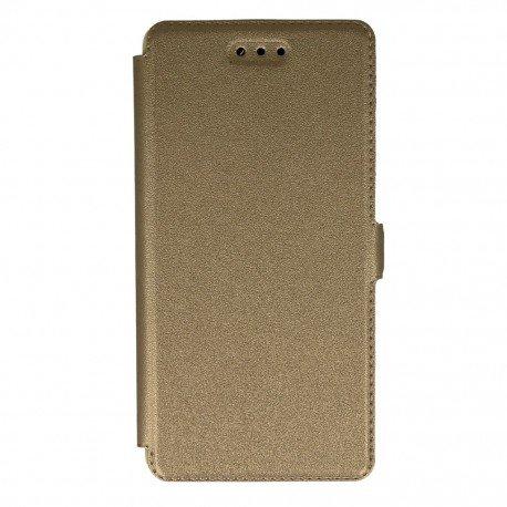 Etui na telefon Pocket Book na Huawei P9 Lite złoty