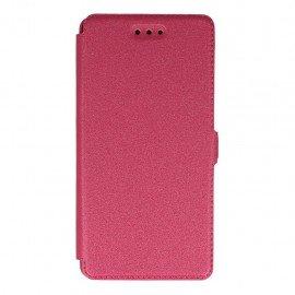 Etui na telefon Pocket Book na Huawei P9 Lite rózowy