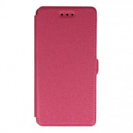 Etui na telefon Pocket Book na Huawei P9 Lite różowy