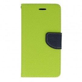 Etui portfelowe Fancy na telefon Huawei P9 Lite zielony