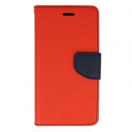 Etui portfelowe Fancy na telefon Huawei P9 Lite czerwony