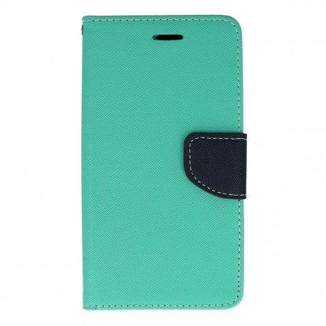 Etui portfelowe Fancy na telefon Huawei P9 Lite miętowy