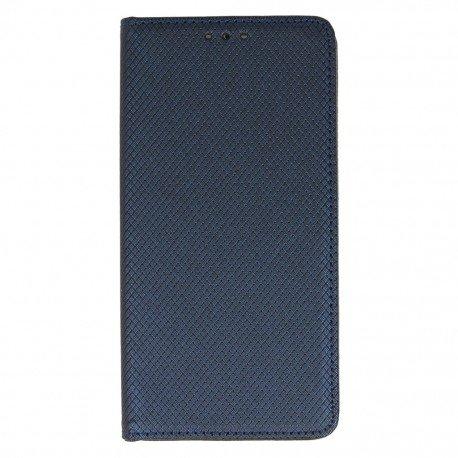 Etui boczne z klapką magnet book Huawei P9 Lite granatowy