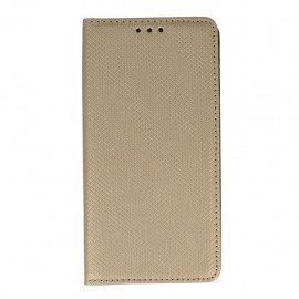 Etui boczne z klapką magnet book Huawei P9 Lite złoty